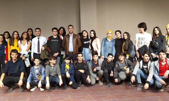Çamlıca Okulları Lise Kampüsünde Sinema Etkinliği