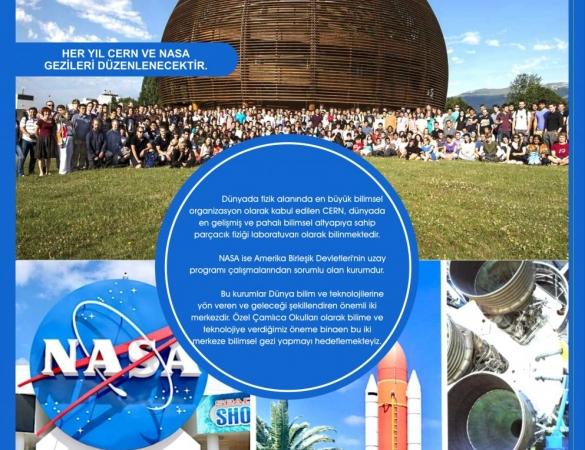 CERN-İSVİÇRE AVRUPA NÜKLEER ARAŞTIRMA MERKEZİ GEZİSİ